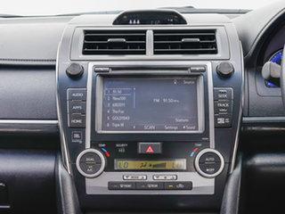 2015 Toyota Camry ASV50R Atara SL White 6 Speed Automatic Sedan