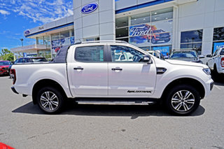 2020 Ford Ranger PX MkIII 2020.75MY Wildtrak Alabaster White 6 Speed Sports Automatic