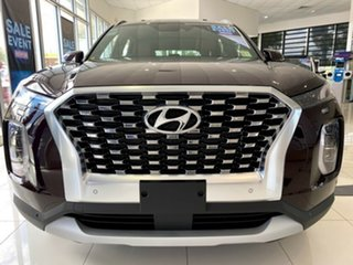 2020 Hyundai Palisade LX2.V1 MY21 Highlander 2WD Sierra Burgundy 8 Speed Sports Automatic Wagon.