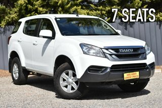 2016 Isuzu MU-X MY15.5 LS-M Rev-Tronic 4x2 White 5 Speed Sports Automatic Wagon.