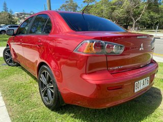 2011 Mitsubishi Lancer CJ MY11 ES Red 5 Speed Manual Sedan