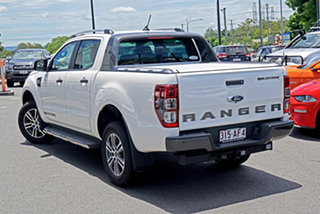2020 Ford Ranger PX MkIII 2020.75MY Wildtrak Alabaster White 6 Speed Sports Automatic.