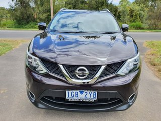 2015 Nissan Qashqai J11 TI Purple Manual Wagon