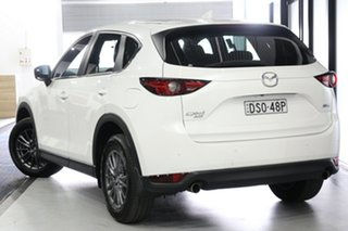 2017 Mazda CX-5 KF4W2A Maxx SKYACTIV-Drive i-ACTIV AWD Sport White 6 Speed Sports Automatic Wagon.