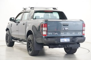 2013 Ford Ranger PX Wildtrak Double Cab Grey 6 Speed Manual Utility
