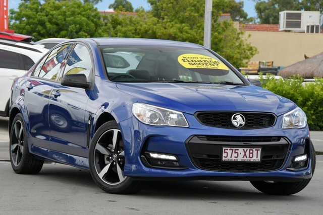 Used Holden Commodore VF II MY16 SV6 Black Aspley, 2016 Holden Commodore VF II MY16 SV6 Black Blue 6 Speed Sports Automatic Sedan