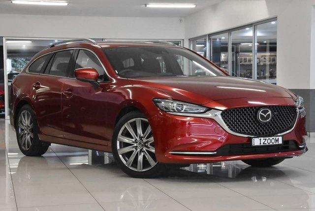 Demo Mazda 6 GL1033 Atenza SKYACTIV-Drive Waitara, 2020 Mazda 6 GL1033 Atenza SKYACTIV-Drive Red 6 Speed Sports Automatic Wagon