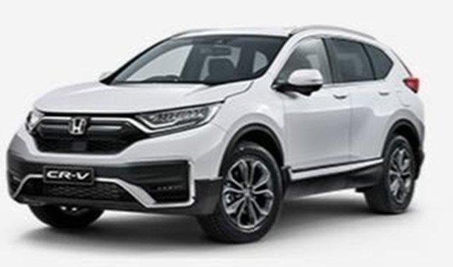New Honda CR-V RW MY21 VTi FWD L7 Atherton, 2020 Honda CR-V RW MY21 VTi FWD L7 White 1 Speed Constant Variable Wagon