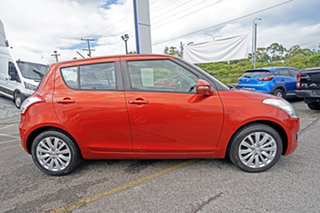 2013 Suzuki Swift FZ GLX Orange 5 Speed Manual Hatchback