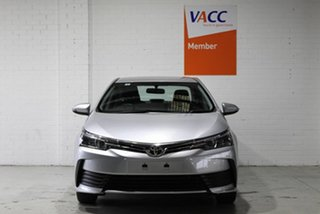 2019 Toyota Corolla ZRE172R Ascent S-CVT Silver 7 Speed Constant Variable Sedan.