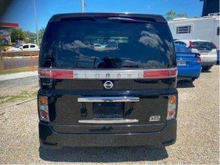 2007 Nissan Elgrand E51 Black 5 Speed Automatic Wagon