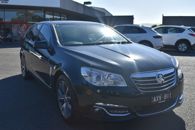Used Holden Calais VF MY14 Sportwagon Wantirna South, 2014 Holden Calais VF MY14 Sportwagon Green 6 Speed Sports Automatic Wagon
