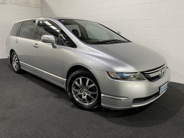 Used Honda Odyssey 3rd Gen MY07 Glenorchy, 2007 Honda Odyssey 3rd Gen MY07 Silver Met/cloth 5 Speed Sports Automatic Wagon
