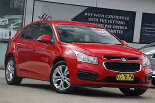 2015 Holden Cruze JH Series II MY15 Equipe Red Hot 6 Speed Sports Automatic Hatchback.