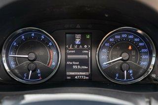 2018 Toyota Corolla ZRE172R ZR S-CVT White 7 Speed Constant Variable Sedan