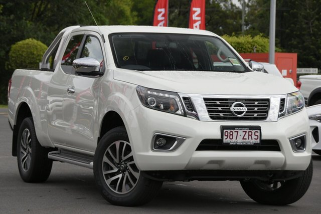 Demo Nissan Navara D23 S4 MY20 ST-X King Cab Aspley, 2020 Nissan Navara D23 S4 MY20 ST-X King Cab White Diamond 7 Speed Sports Automatic Utility