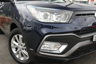 2018 Ssangyong Tivoli XLV X100 ELX 2WD Blue 6 Speed Sports Automatic Wagon.