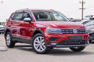 2020 Volkswagen Tiguan 5N MY20 132TSI Comfortline DSG 4MOTION Allspace Red 7 Speed.