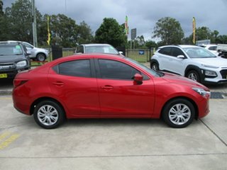 2015 Mazda 2 DL2SA6 Neo SKYACTIV-MT Red 6 Speed Manual Sedan.