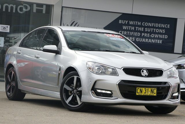 Used Holden Commodore VF II MY17 SV6 Homebush, 2017 Holden Commodore VF II MY17 SV6 Silver 6 Speed Sports Automatic Sedan