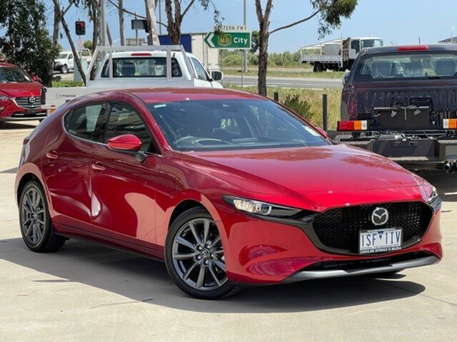 Demo Mazda 3 BP2H7A G20 SKYACTIV-Drive Touring Ravenhall, 2020 Mazda 3 BP2H7A G20 SKYACTIV-Drive Touring Soul Red Crystal 6 Speed Sports Automatic Hatchback