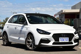 2020 Hyundai i30 PD.V4 MY21 N Line D-CT Premium Waw/try 7 Speed Manual Hatchback.