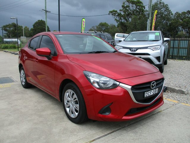 Used Mazda 2 DL2SA6 Neo SKYACTIV-MT Glendale, 2015 Mazda 2 DL2SA6 Neo SKYACTIV-MT Red 6 Speed Manual Sedan