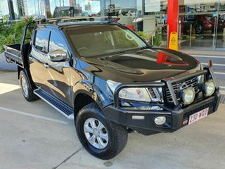 2016 Nissan Navara NP300 ST Black 6 Speed Automatic Dual Cab