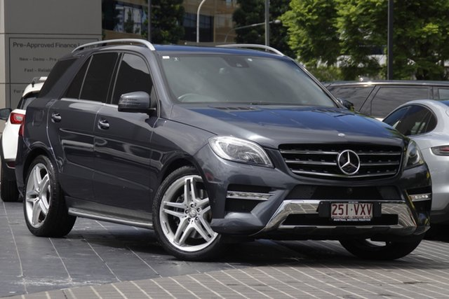Used Mercedes-Benz M-Class W166 MY805 ML500 7G-Tronic + Newstead, 2015 Mercedes-Benz M-Class W166 MY805 ML500 7G-Tronic + Grey 7 Speed Sports Automatic Wagon