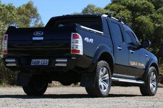 2010 Ford Ranger PK Wildtrak Crew Cab Black 5 Speed Manual Utility.