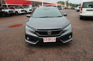 2017 Honda Civic 10th Gen MY17 RS Mercury Grey 1 Speed Continuous Variable Hatchback.