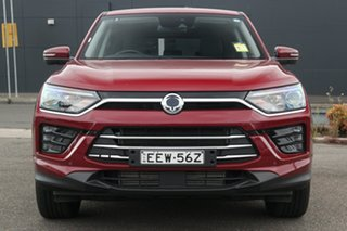 2019 Ssangyong Korando C300 MY20 Ultimate 2WD Red 6 Speed Sports Automatic Wagon