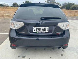 2010 Subaru Impreza G3 MY10 RS AWD Black 4 Speed Sports Automatic Hatchback