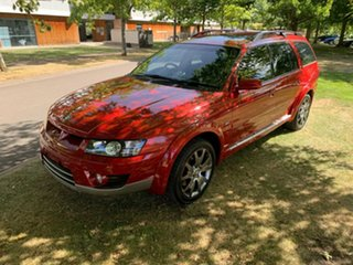 2005 Holden Special Vehicles Avalanche Y Series II (Z) Red 4 Speed Automatic Wagon.