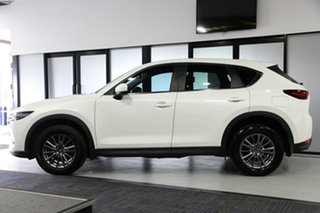 2017 Mazda CX-5 KF4W2A Maxx SKYACTIV-Drive i-ACTIV AWD Sport White 6 Speed Sports Automatic Wagon