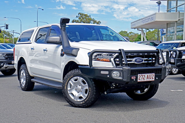 Used Ford Ranger PX MkIII 2019.00MY XLS Ebbw Vale, 2019 Ford Ranger PX MkIII 2019.00MY XLS White 6 Speed Sports Automatic Double Cab Pick Up