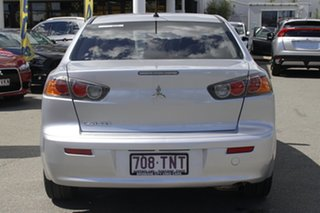 2013 Mitsubishi Lancer CJ MY14 ES Cool Silver 6 Speed Constant Variable Sedan