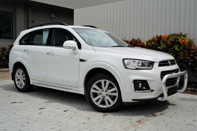Used Holden Captiva CG MY16 LT AWD Cairns, 2016 Holden Captiva CG MY16 LT AWD White 6 Speed Sports Automatic Wagon