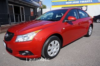 2012 Holden Cruze JH Series II MY12 CD Red Hot 6 Speed Sports Automatic Sedan.