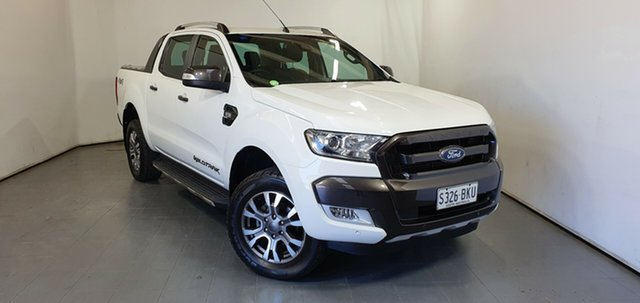 Used Ford Ranger PX MkII Wildtrak Double Cab Elizabeth, 2016 Ford Ranger PX MkII Wildtrak Double Cab White 6 Speed Sports Automatic Utility