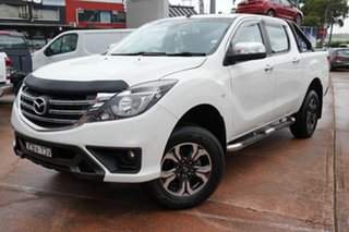 2018 Mazda BT-50 MY17 Update XTR Hi-Rider (4x2) White 6 Speed Automatic Dual Cab Utility.