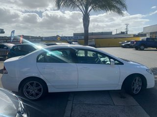 2007 Honda Civic MY07 Sport White 5 Speed Automatic Sedan
