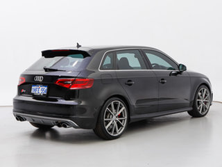 2016 Audi S3 8V MY16 2.0 TFSI Quattro Black 6 Speed Direct Shift Sedan