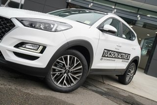 2020 Hyundai Tucson ACTIVE X Pure White 6 Speed Automatic SUV.