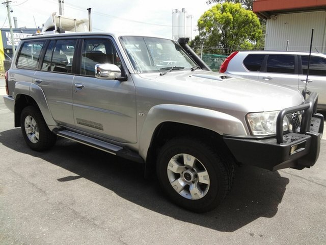 Used Nissan Patrol GU VII ST (4x4) Coopers Plains, 2010 Nissan Patrol GU VII ST (4x4) Silver 5 Speed Manual Wagon