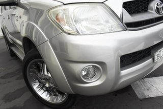 2009 Toyota Hilux GGN25R MY09 SR5 Silver 5 Speed Automatic Utility.