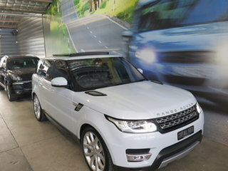 2015 Land Rover Range Rover LW MY16.5 Sport SDV8 HSE Dynamic White 8 Speed Automatic Wagon