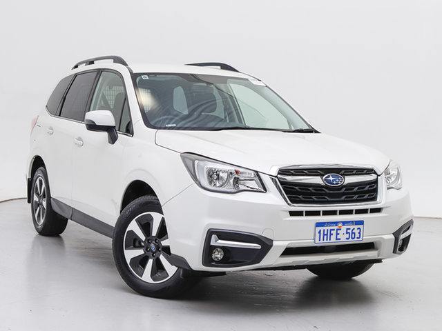 Used Subaru Forester MY16 2.0D-L, 2017 Subaru Forester MY16 2.0D-L White Continuous Variable Wagon