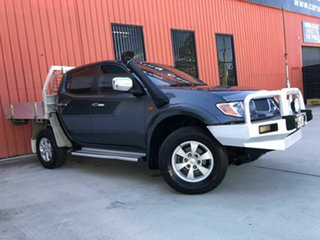 2008 Mitsubishi Triton ML MY08 GLX-R Double Cab Grey 5 Speed Manual Utility.