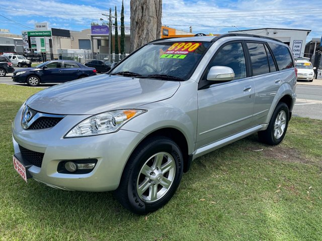Used Great Wall X240 CC6460KY Clontarf, 2011 Great Wall X240 CC6460KY Silver 5 Speed Manual Wagon